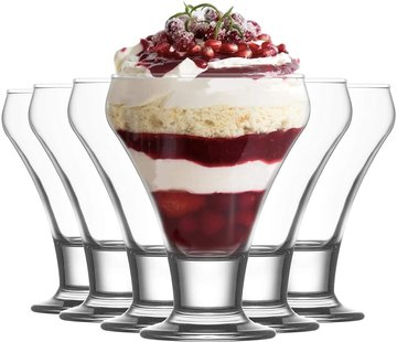 LAV LAV Frosty - Ice Cream Coupe - Set van 6 - 305 ml