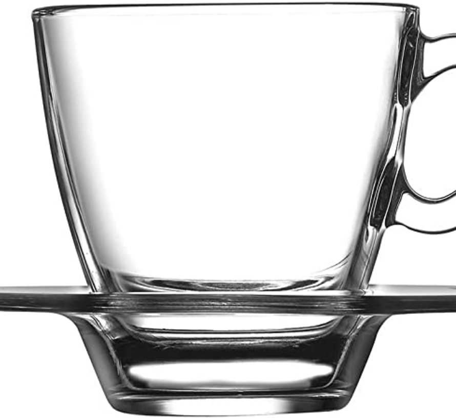 Pasabahce Aqua Espresso set 72 cc 12-Delig | 6-Persoons