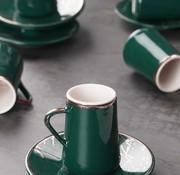 ACR Acr Mina Espresso set 12-Delig | 6-Persoons Groen