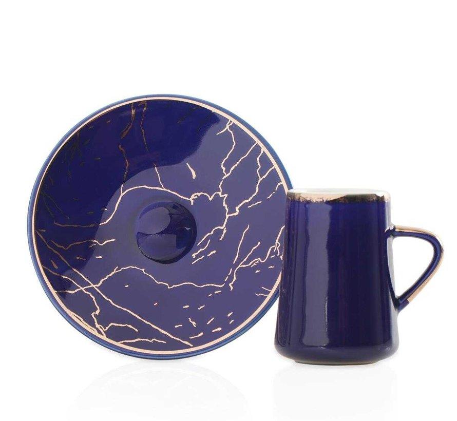 Acr Mina Espresso set 12-Delig | 6-Persoons Blauwe