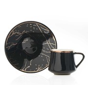 ACR Acr Milla Espresso set 12-Delig | 6-Persoons  Zwart