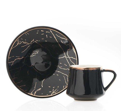 ACR Acr Milla 12 Delig Espressoset Zwart