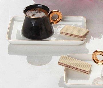 ACR Acr Ring Espressoset 12 Delig Zwart