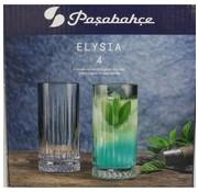 PASABAHCE Pasabahce Elysia Limonade Glazen 4 Delig 280cc