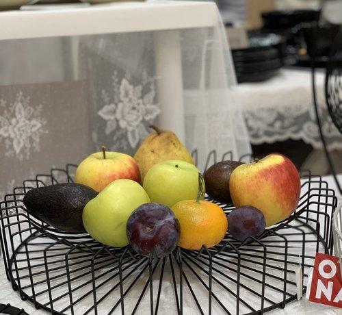 Cosy Cosy Orbit Fruitschaal Rond Zwart -L-