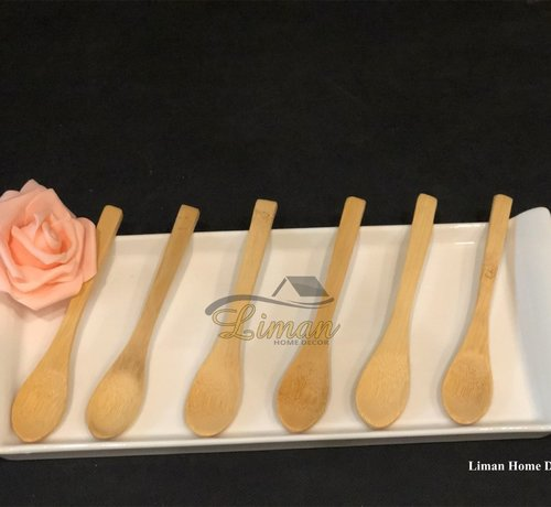 cinar bamboe 6-delige theelepelset