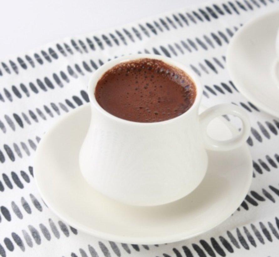 Acr Lonna Espresso set 12-Delig   6-Persoons