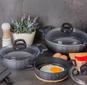 ACR Acr Mini Granit Kook Pannenset 6 Delig Antrasiet