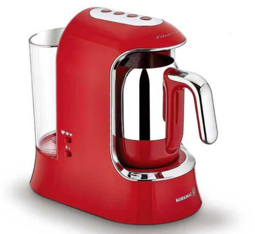 KORKMAZ Korkmaz Kahvekolik AquaTurkse Koffiezetapparaat Rood A862