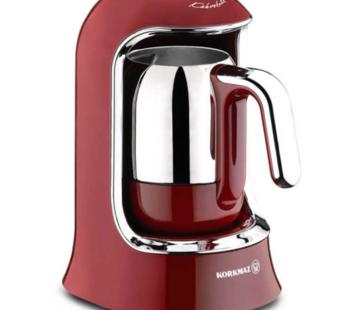 KORKMAZ Korkmaz Kahvekolik Turkse Koffiezetapparaat Rood A860-03