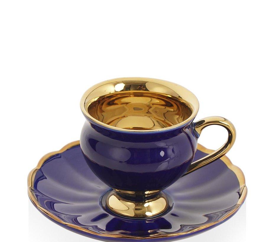 Acr Morpheus Espressoset saks blauw 12 DLG