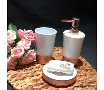 ACR ACR Rose porseleinen badkamer set 3 dlg