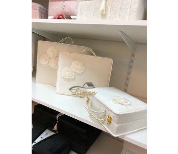 3 Delige Bruidskofferset Wit