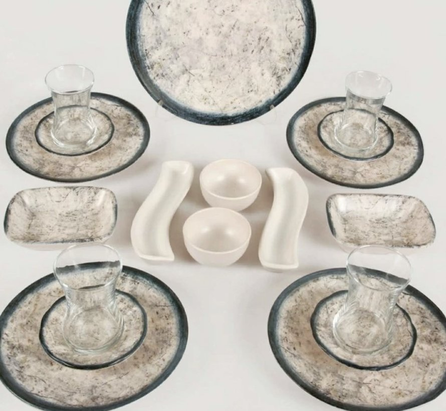 Keramika  19 Delig Ontbijtset