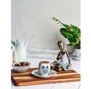 KARACA Karaca Iznik 6 Persons Turkish Coffee Cup Set
