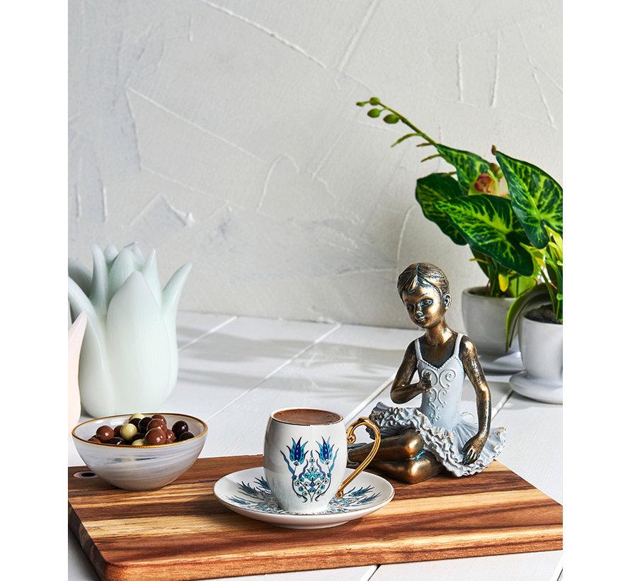 Karaca Iznik Espressoset 12-Delig | 6-Persoons
