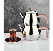 KARACA Karaca Kayra Rose Turkish Teapot Set
