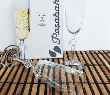 PASABAHCE Pasabahce Amore 2 delig Glazenset 150 Cl