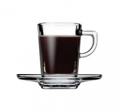 PASABAHCE Pasabahce Carre Espresso set 72 cc 12-Delig | 6-Persoons