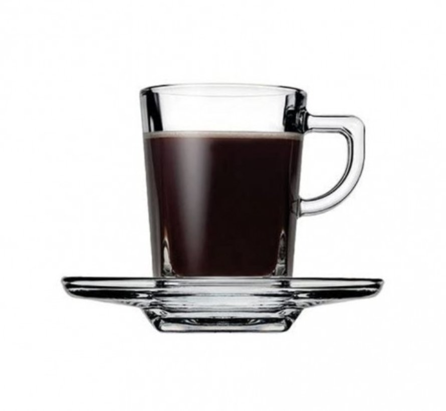 Pasabahce Carre Espresso set 72 cc 12-Delig | 6-Persoons