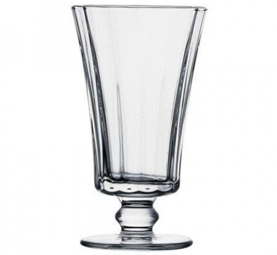 Pasabahce Diamond Drinkglazen Met Voet 6 Delig 130cl