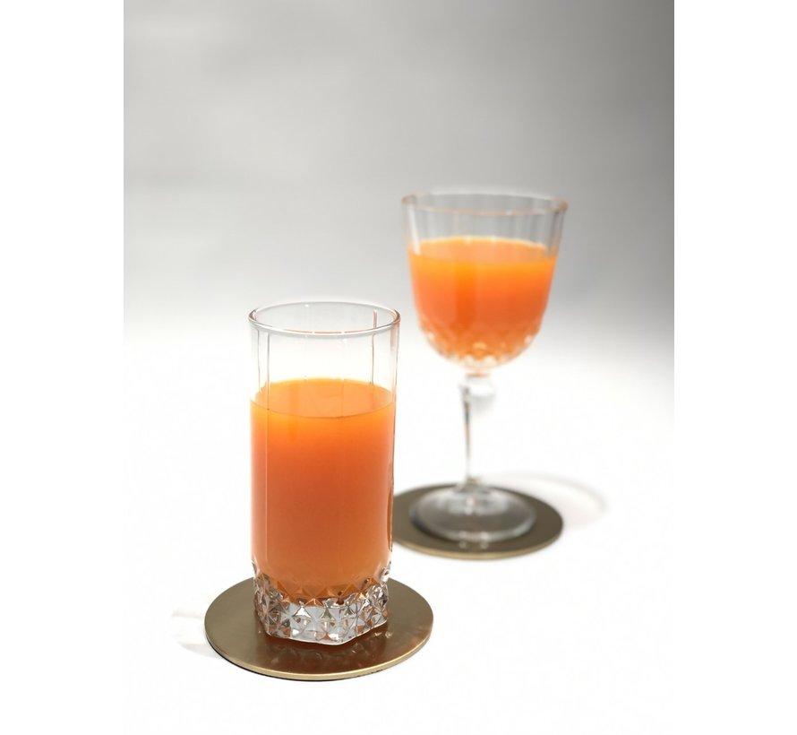 Cheers 4 Delig Glasonderzetter Goud