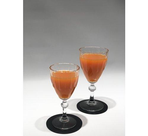 S P Collection Cheers 4 Delig Glasonderzetter Zwart