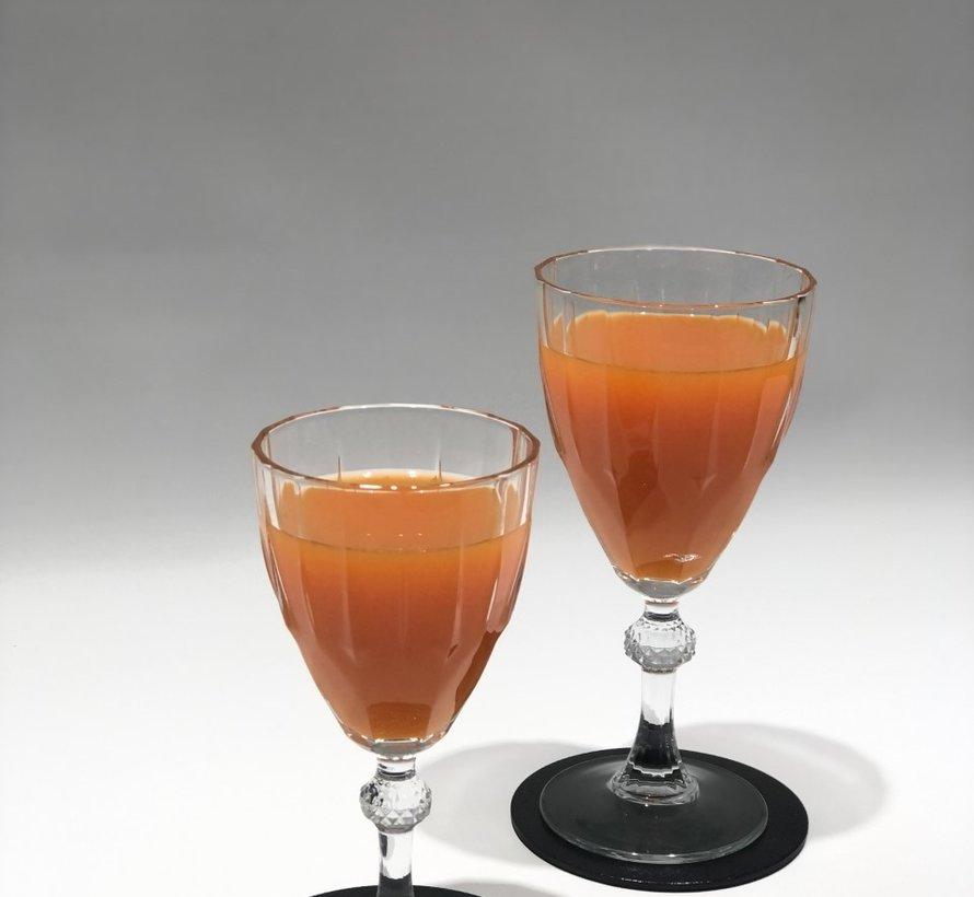 Cheers 4 Delig Glasonderzetter Zwart