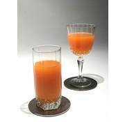 S & P Cheers 4 Delig Glasonderzetter Zilver