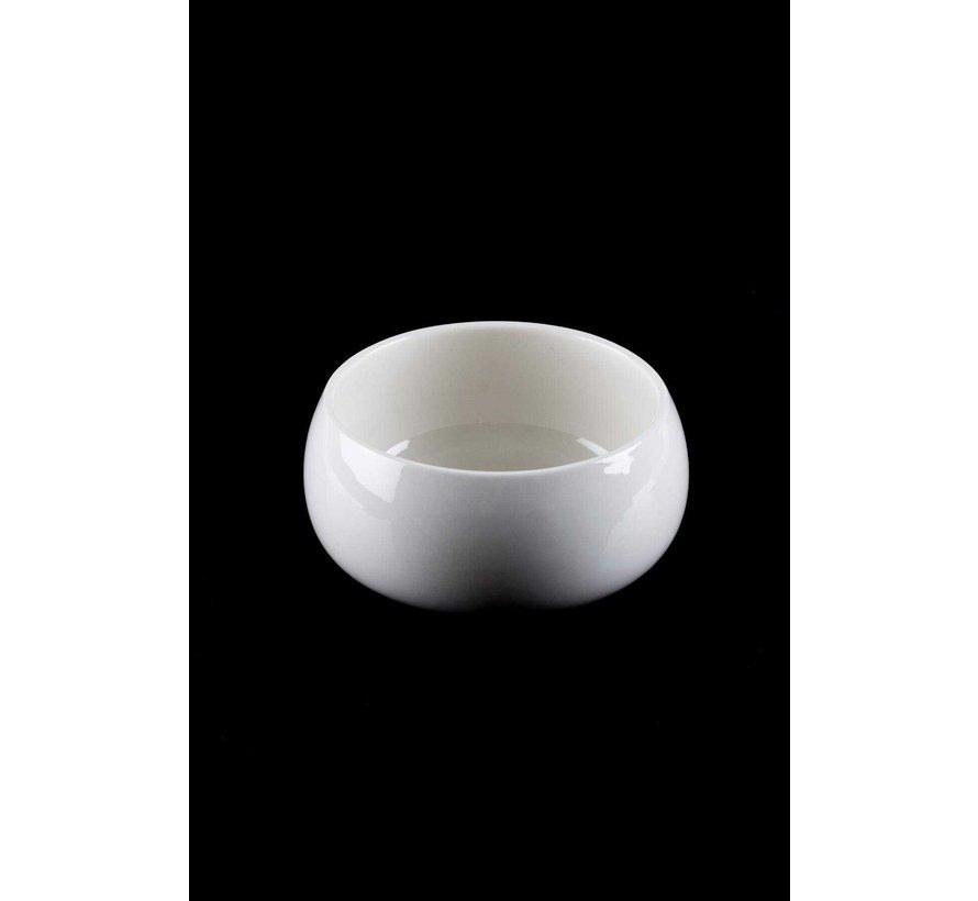 ACR Bianco Perla Bombeli Ronde schaal 13.3 cm