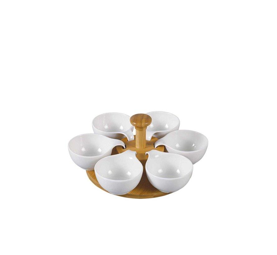ACR La Pure Snackset Met Bamboe Draaimolen 7 DLG