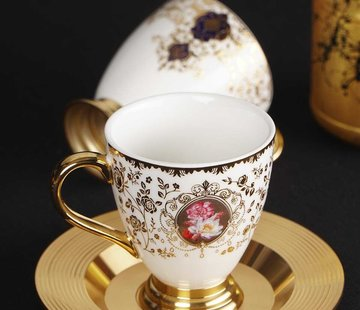 ACR ACR Violet Espresso set 12-Delig   6-Persoons