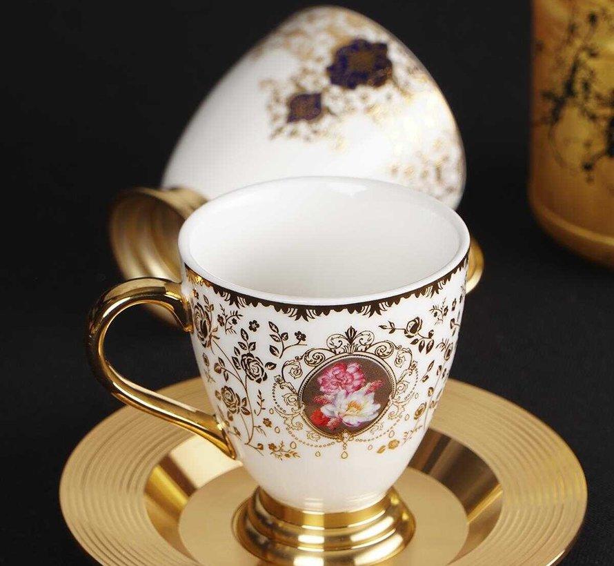 ACR Violet Espresso set 12-Delig   6-Persoons
