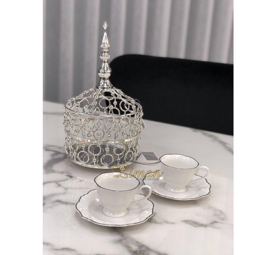 ACR Oriental Bonbonniere Zilver