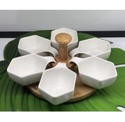 ACR ACR Snackset Met Bamboe Draaimolen 7 DLG