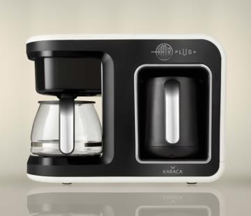 KARACA Karaca Hatır Plus 2 in 1 Coffee Maker Cream