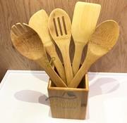 cinar Bamboe 6-delige keukengereiset