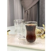 Bricard double-walled tea glasses 2 Pieses