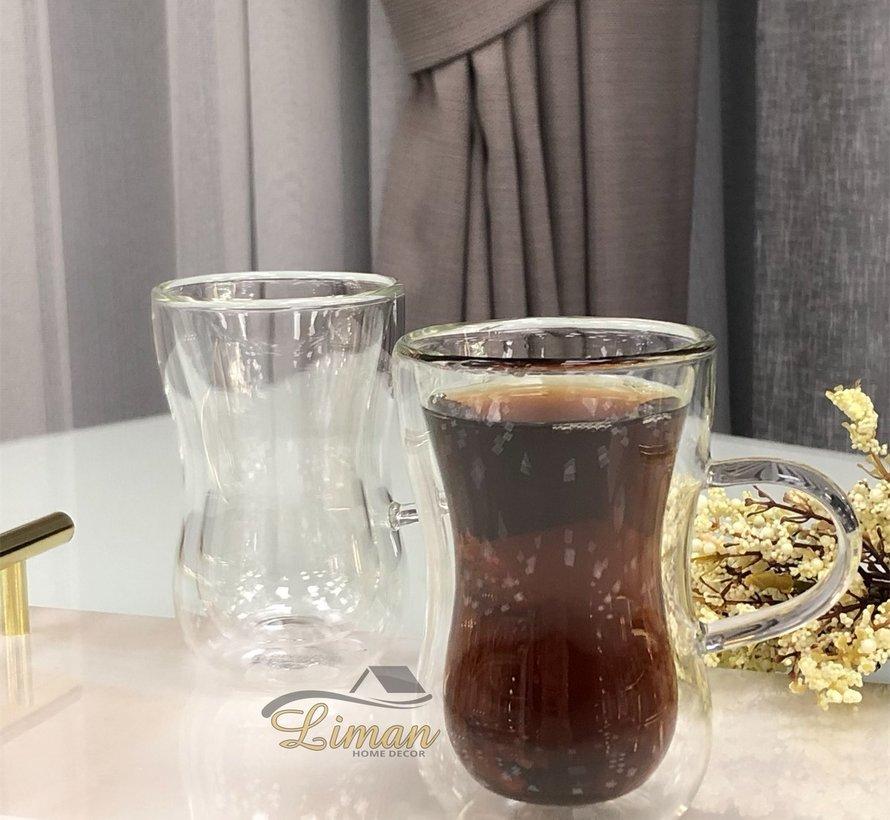 Bricard doppelwandige Teegläser 2 Tlg