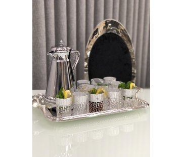 Tanger Marokkaanse Theeglazen Zilver 12 DLG