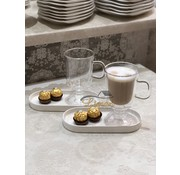 Bricard double-walled Café Latte Coffee glasses 2 Pieses