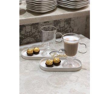 Bricard Dubbelwandige Café Latte Koffieset 2 DLG