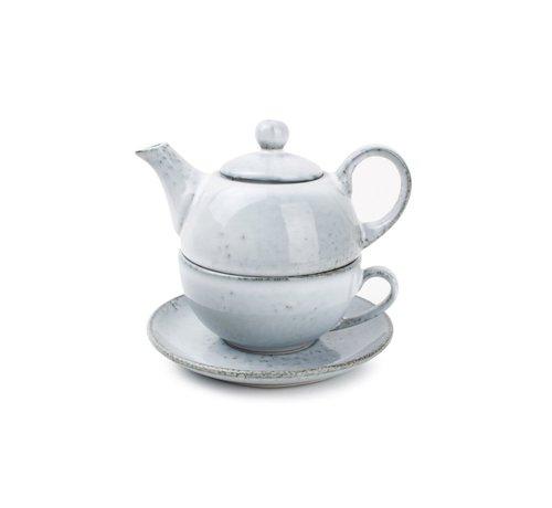 S & P S&P Tea for one set blue Artisan
