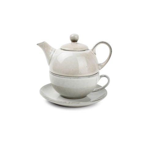 S & P S&P Tea for one set green Artisan
