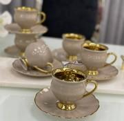 ACR Acr Morpheus Espresso set 12-Delig | 6-Persoons Cream
