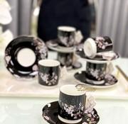 ACR ACR lente Espresso set 12-Delig | 6-Persoons Zwart
