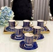 ACR ACR Saray 12 Delig Espressoset Blauw