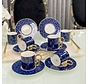 ACR Amoure 12 Delig | 6 Persoon Espressoset Blauw