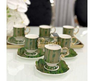 ACR ACR Saray 12 Delig Espressoset Groen