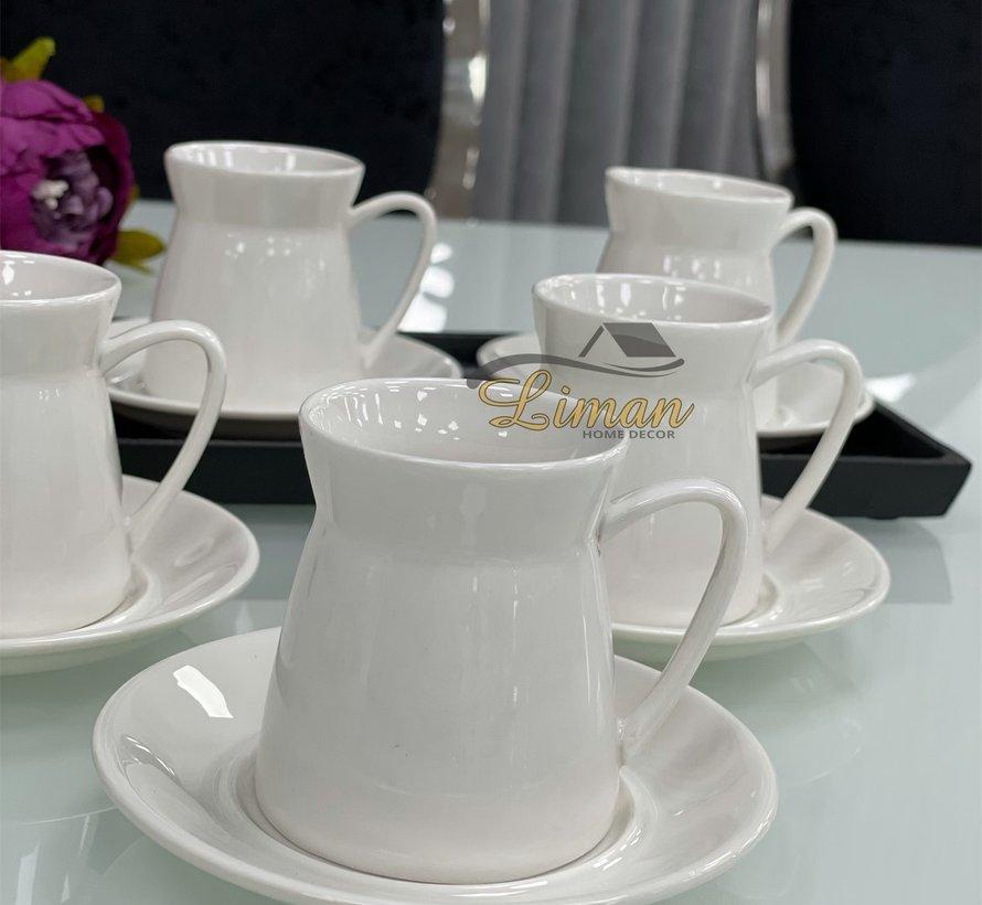 Acr Linda Espresso set 12-Delig | 6-Persoons